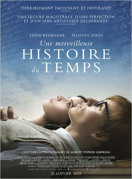 L'affiche du film « Une merveilleuse histoire de temps » © DR