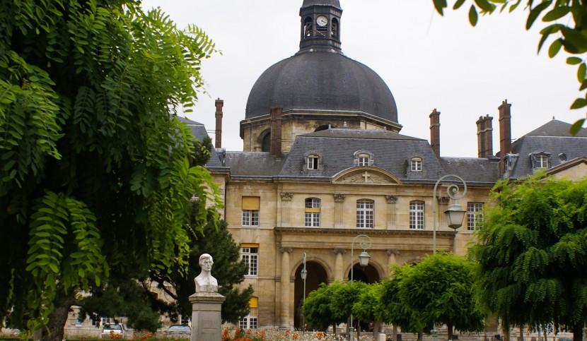 Photographie de la chapelle Saint-Louis de l'Hôpital de la Pitié Salpetrière