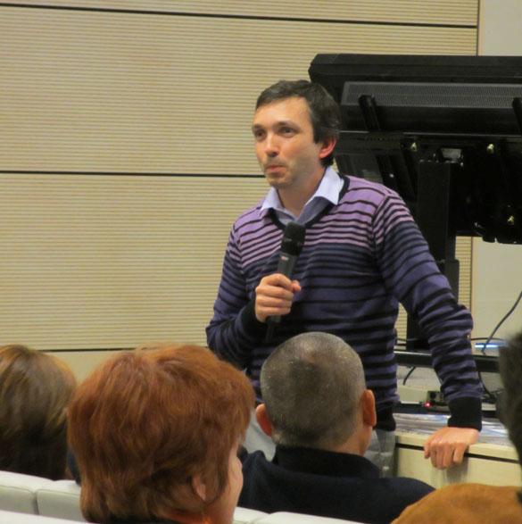 Giovanni Stevanin, co-organisateur de l'événement