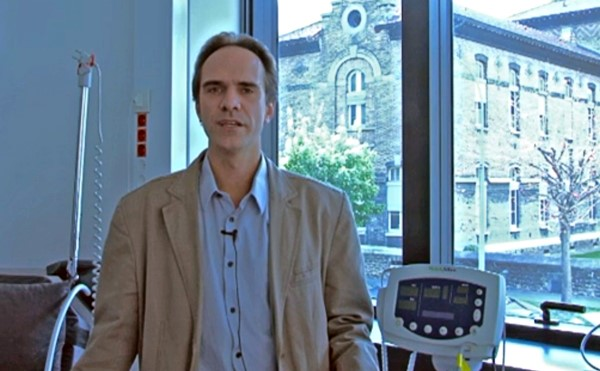 Le Dr Jean-Christophe Corvol, Directeur du CIC (Centre d'Investigation Clinique) de l'ICM et et responsable scientifique du projet AETIONOMY pour l'ICM