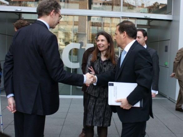 Mr Alexis Brice, Mrs Alexandrine Maviel-Sonet & Mr Eric Besson