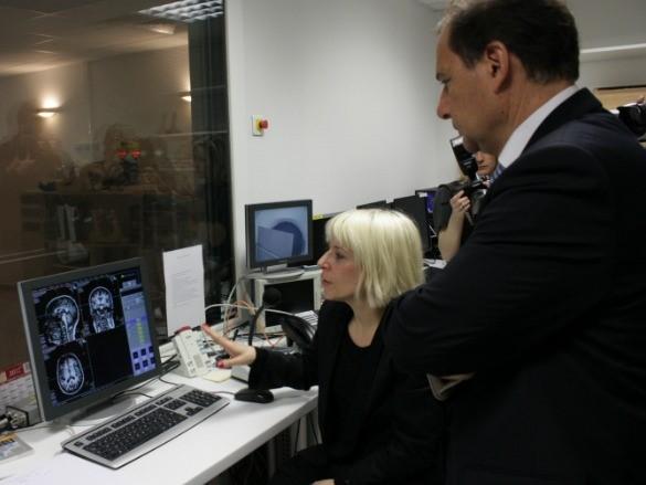Neuroimaging center's visit