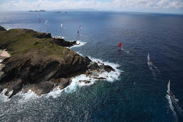 Les Voiles de Saint-Barth 2013 © Tim Wright / Les Voiles de Saint-Barth