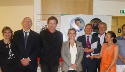 Photo des représentants des Clubs service de Limoges