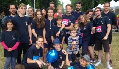 Photo des participants de la Course des héros