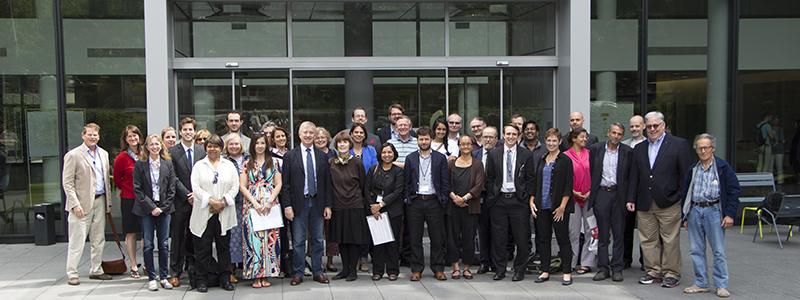 Photo des participants au congrès 2015 de neuroéthique
