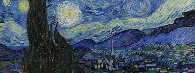 image : Van Gogh - Starry Night