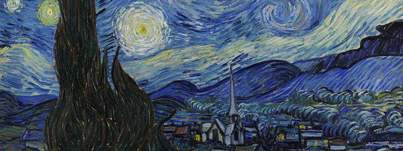 image : Van Gogh - Starry Night