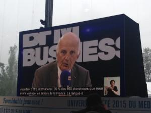 Pr Gérard Saillant, Président de l'ICM
