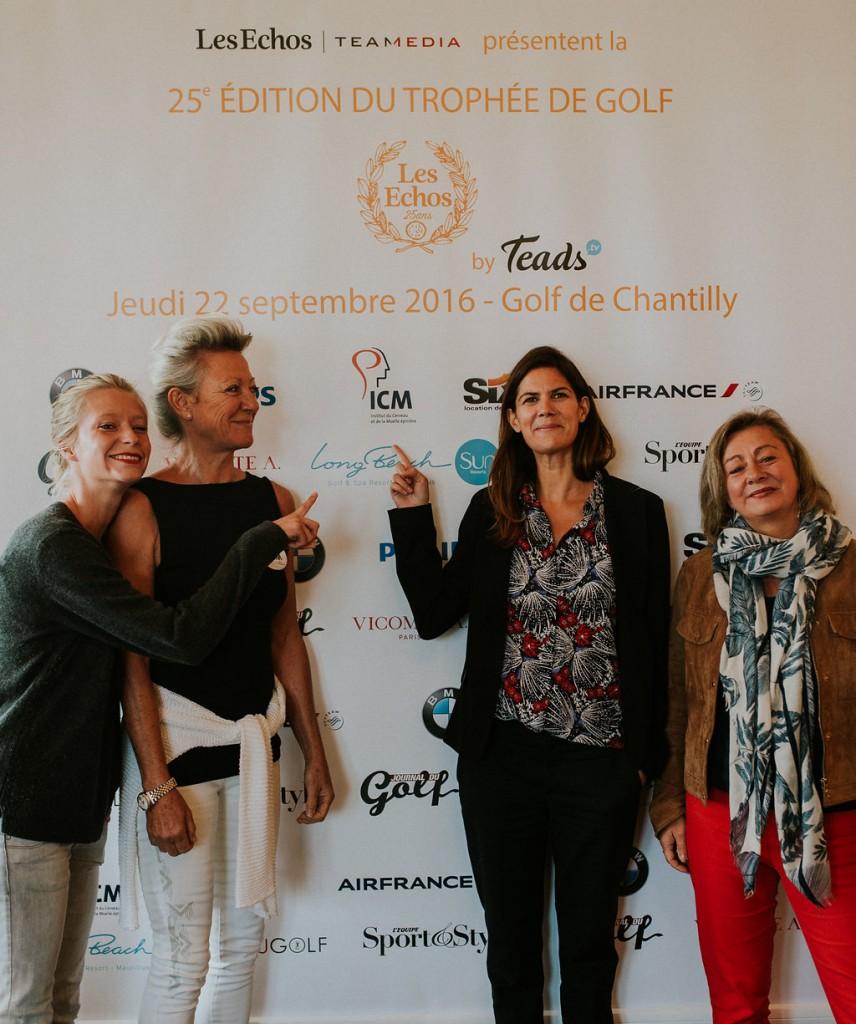 """Equipe de l'Institut du Cerveau - ICM au Trophée de Golf """"Les Echos"""""""
