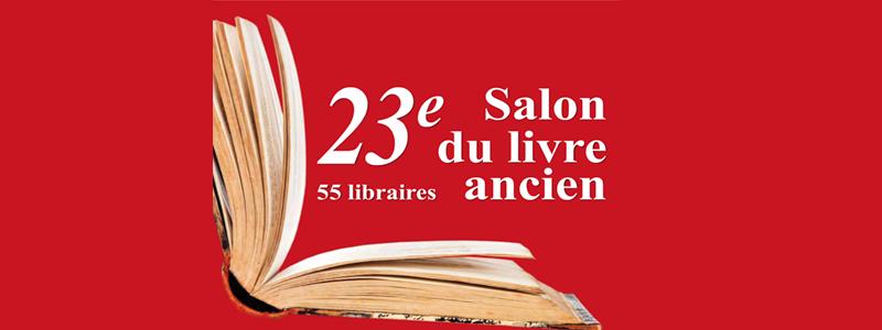 Le Salon Du Livre Ancien S Engage Pour L Icm Institut Du