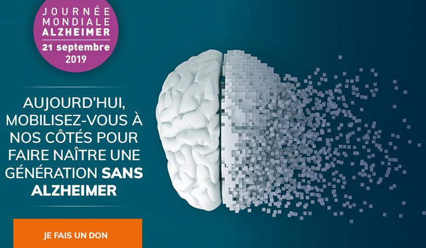 25ème Journée Mondiale contre la Maladie d'Alzheimer : tous mobilisés !