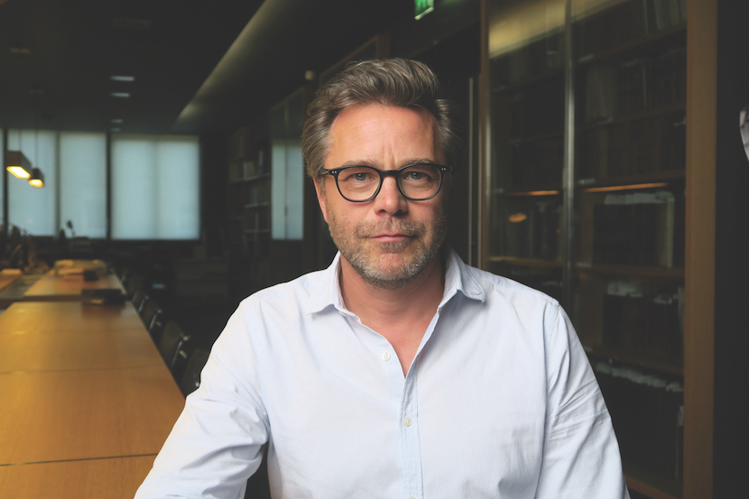 Guillaume De Tonquedec, dans l'émission de Michel Drucker le 1er septembre 2019