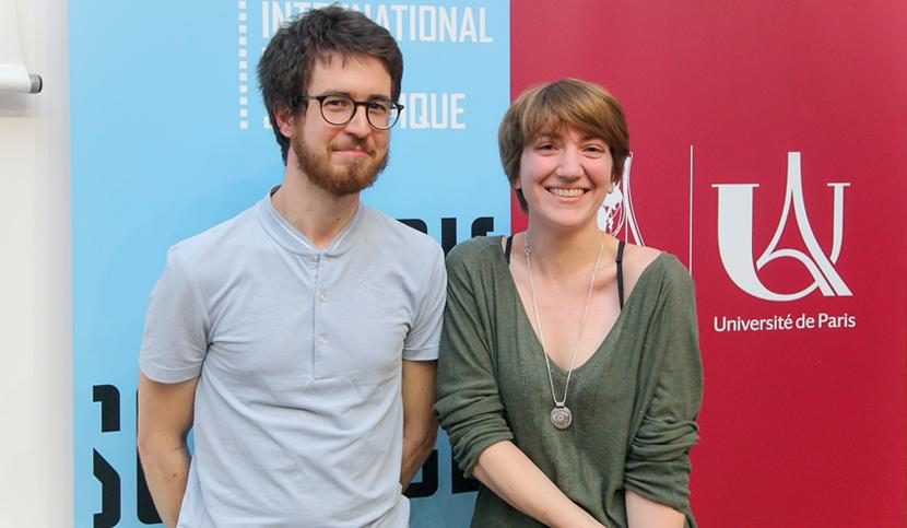 Cyprien Bisot et Nathalie Magne