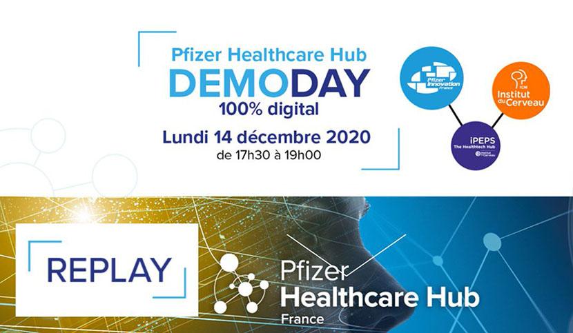 demoday pfizer ipeps healthtech hub